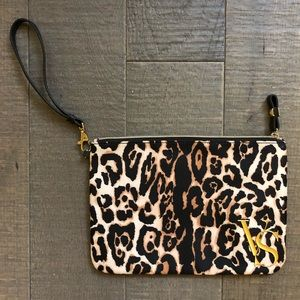 Victoria's Secret Animal Print Leopard Wristlet